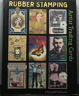 Tweety Jill Rubber Stamping Artist Trading Cards 159 Page Book