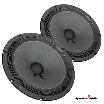 "Pair Faital PRO 10FE200 10"" Woofer Midrange Open Baffle Speaker 8 ohm 300W 96dB"