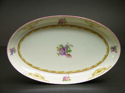 Small Platter Marked Aelteste Hutschenreuther Hohenberg Germany US Standard