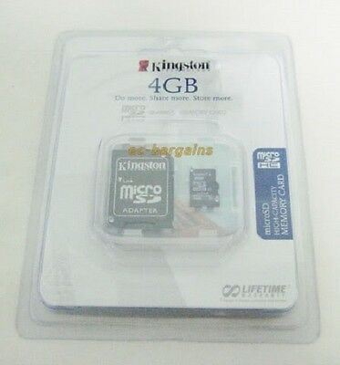 4GB MICRO SD MEMORY CARD FOR AT&T HTC Inspire 4G