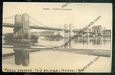 France, Cosne, Les Ponts Suspendus(not mailed post card(MY349)