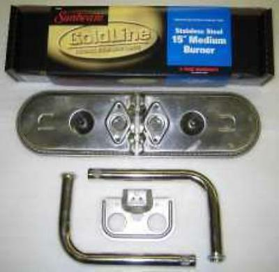 "Gas Sunbeam Grill Replacement 15"" Stainless Steel Burner Kit"