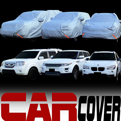 4 Layer Universal Water Proof 4600mm SUV Car Cover & Life Warranty New For Kia
