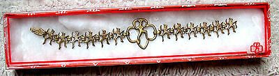 1946-12 BROWNIE ELVES BRACELET Girl Scouts GOLD PLATE Collectors EXTREMELY RARE