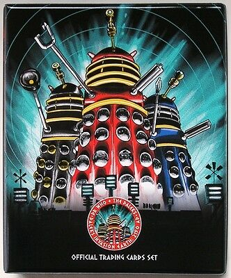 Dr Doctor Who Daleks 2150AD Trading Card Binder from Unstoppable Cards