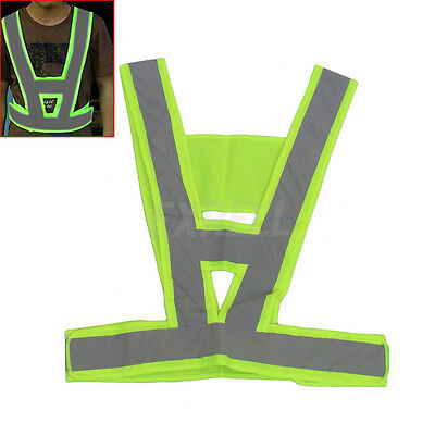 Reflective Vest High Visibility Warning Traffic Construction Safety Gear
