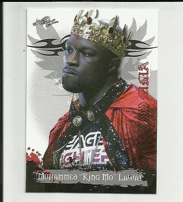"Muhammed ""King Mo"" Lawal 2010 Leaf MMA base card #22 UFC"