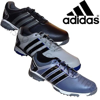 Adidas Mens AdiPower TR Waterproof Golf Shoes Wide Fit