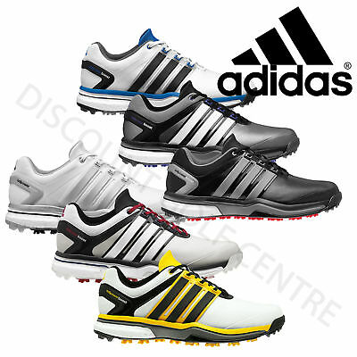 Adidas Men's AdiPower Boost Tour Waterproof Golf Shoes Wide & Standard Fit