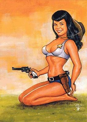 Bettie Page Private Collection BP9-NSU Promo Card