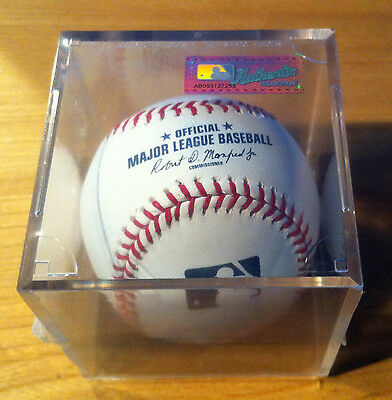 Rawlings Official MLB Baseball 1 Individually Cubed Ball Robert Manfred Jr New