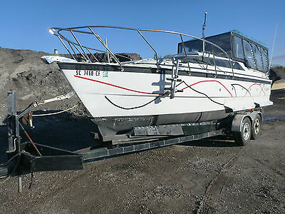 1996 MacGregor 26x Sailboat with trailer Project NO RESERVE