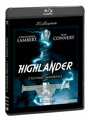 Blu Ray Highlander - L'Ultimo Immortale (Dvd+Blu-Ray) *** Contenuti Extra ***NEW