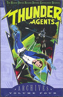 DC Archives Edition Thunder Agents Vol 4 HC 2004 NM Wood Adkins Skeates Kane