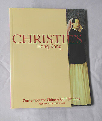 Christie's Contemporary Chinese Oil Paintings Oct. 30, 2000 Hong Kong