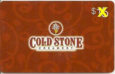 Cold Stone Creamery Restaurant Ice Cream 2011 Gift Card Collectible FD-24215