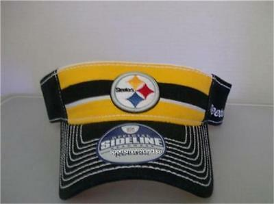 Pittsburgh Steelers NFL Officially Licensed Reebok Adjustable Visor