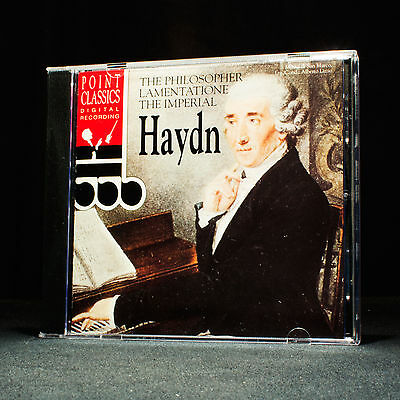 Haydn - The Philosopher - Lamentatione - The Imperial - music cd album