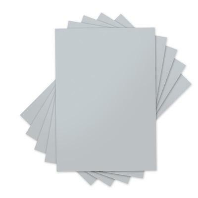 Sizzix Inksheets Transfer Film 5 Sheets 660545 Silver  4X6 5 Silver Sheets