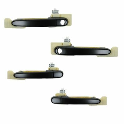 QSC Outside Exterior Door Handle Rear Right for Hyundai Accent 00-06