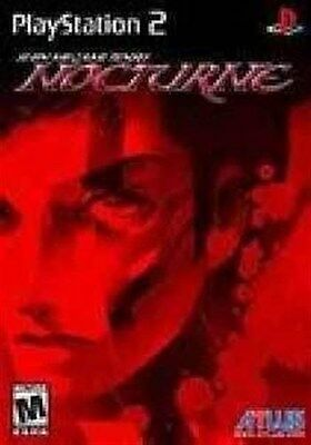 PLAYSTATION 2 PS2 GAME SHIN MEGAMI TENSEI NOCTURNE NEW