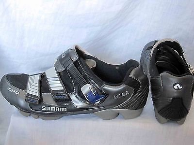 Shimano SH-M182 MTB road cycling shoes Euro size 47 or US 11.8, WITH CLEATS ! !