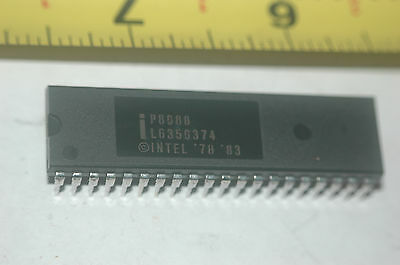 INTEL P8088 8-Bit Microprocessor CPU 40-Pin Dip New Quantity-1