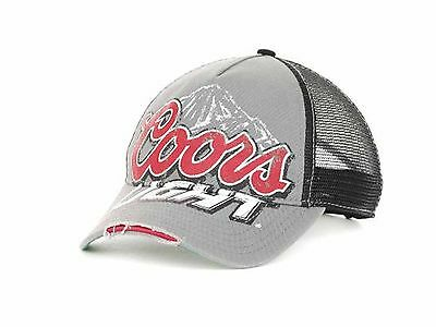 Coors Light Distressed Logo Mesh Snapback Truckers Cap-OSFM-Vision Concepts