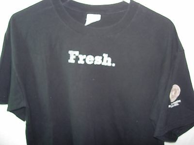 MENS BLACK FRESH STARBUCKS COFFEE PIKE PLACE ROAST HUMOR T SHIRT SIZE L 44
