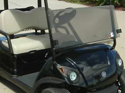 "CLEAR Yamaha Drive (G29) Golf Cart Folding Windshield ** CLEAR"" 07-up"