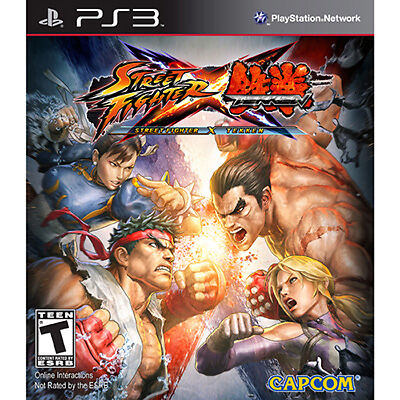 Street Fighter X Tekken COMPLETE Sony Playstation 3 PS PS3 GAME
