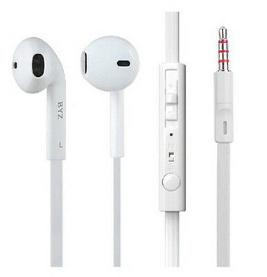 Hot Universal 3.5mm Wired In-Ear Earphone Headphone+Mic for iPhone/Samsung/iPod