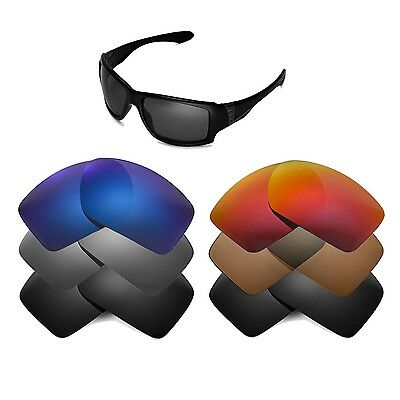 Walleva Replacement Lenses for Oakley Big Taco Sunglasses - Multiple Options