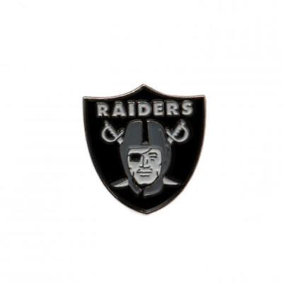 Oakland Raiders - Metal Badge - NFL GIFT