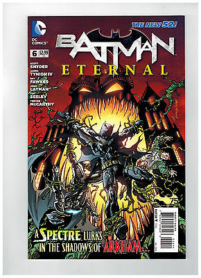 BATMAN ETERNAL #6  1st Printing - The New 52!                   / 2014 DC Comics