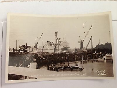 A Rppc Bandon Oregon Or Loading Lumber On Ship Export Cranberry Festival Here