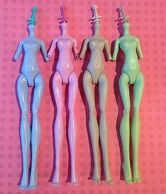 MONSTER HIGH ~ Abbey Operetta Rochelle Venus 4 NUDE BODIES LOT REPLACEMENT New
