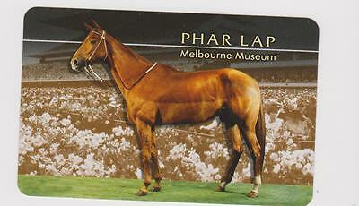 *phar Lap* X 1 Only Single Playing/swapcard Of The Iconic Australian Race Horse