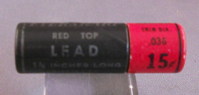 Eversharp Red Top Short 0.9mm Lead  medium soft  HB