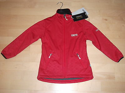 2117 Of Sweden - Rote Hochqualitäts Funktions Softshell Jacke Gr. 128 - Neuware