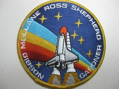 U.s. Raumfahrt Nasa Space Aufnäher Patch Sts-27 Space Shuttle Atlantis Mission