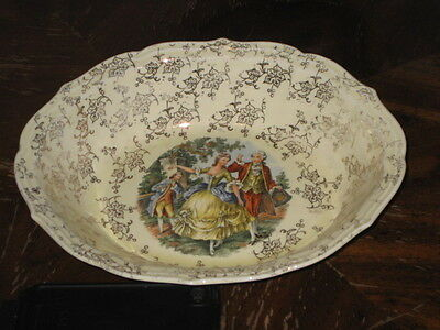W.S. George Rainbow 151A Serving Bowl