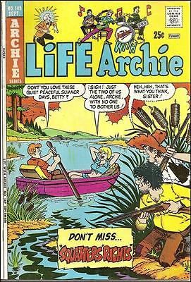 LIFE WITH ARCHIE #149 VG, BETTY, VERONICA, JUGHEAD, REGGIE, Archie Comics 1974