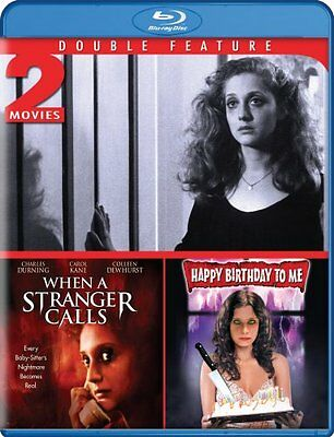 WHEN A STRANGER CALLS + HAPPY BIRTHDAY TO ME New Sealed Blu-ray Double Feature
