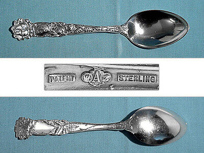 Alvin Sterling Teaspoon(S) ~ Bridal Rose ~ Mono K