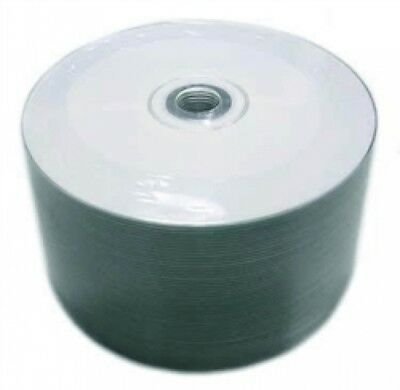 1200 Grade A 52x CD-R 80min 700MB White Inkjet Hub Printable (Shrink Wrap)