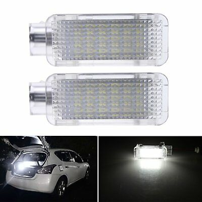 2 Audi Canbus White LED Door Courtesy Error Free Light Lamp A1 A3 S3 A4 A6 A8 Q5