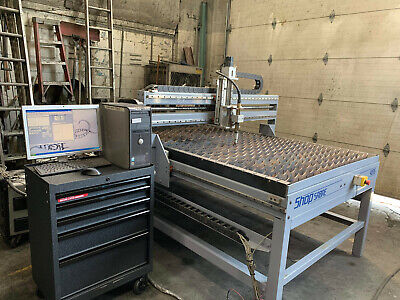 """48"""" X 96"""" Shop Sabre 4896 Plasma Cutting System  Flame Table"""