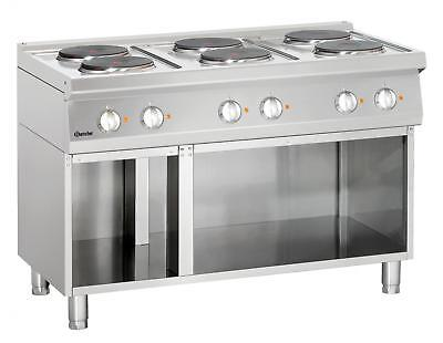 Bartscher 286106 - Electric stove, 6 hot-plates Series 700