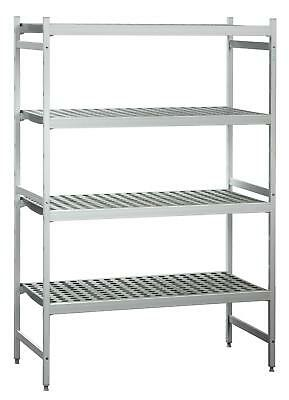 Bartscher 603150 - Shelving 4 shelves for cookers 108x56 cm H180